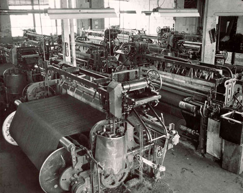 Textile factory in Ways Mills